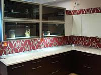Кухня современная черно-белая, фото 1