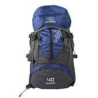 Рюкзак туристичний Highlander Summit 40 Blue, фото 1