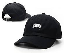 """Кепка Stussy Clasic """"Black"""". Стильная кепка Stussy в черном цвете. Лучший выбор бейсболок."""