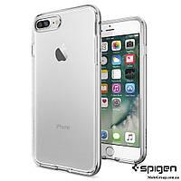 Чехол Spigen для iPhone 7Plus Neo Hybrid Crystal, Satin Silver, фото 1