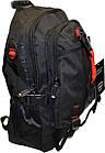 Рюкзак спортивний чорний (40*28*13), фото 3