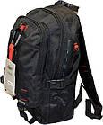 Рюкзак спортивний чорний (40*28*13), фото 4