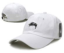 "Кепка Stussy Clasic ""White"". Стильная кепка Stussy в белом цвете. Кепки и бейсболки."
