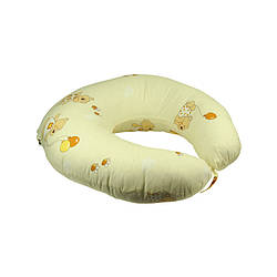 Подушка для кормления с наволочкой бежевая (909_Бежевий)