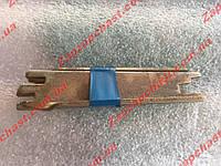 Планки задних тормозных колодок Заз 1102 1103 таврия славута распорные (к-кт 2шт), фото 1