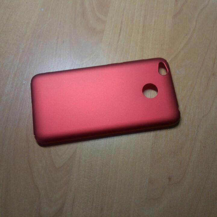 Класний стильний матовий чохол на Xiaomi Redmi 4X