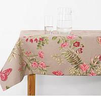 Скатерть Бабочки розовые, 150*250см