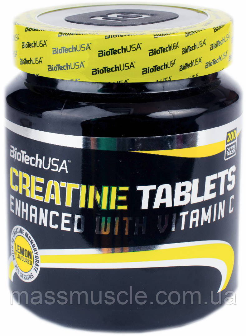 Креатин BioTech USA Creatine Tablets 200tabs
