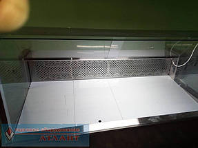 """Холодильные витрины """"Пальмира Куб - 1.5 М"""" Айстермо, продуктовый магазин в п. Быковня, Киевская область 2"""