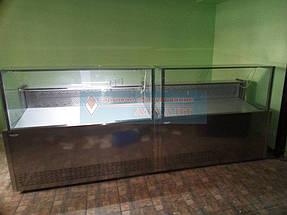"""Холодильные витрины """"Пальмира Куб - 1.5 М"""" Айстермо, продуктовый магазин в п. Быковня, Киевская область 3"""