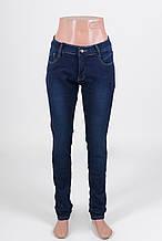 Жіночі джинси великих розмірів утеплені на флісі (28-33рр.)