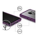 Чохол Ringke Fusion для Samsung Galaxy S9 Orchid Purple, фото 7
