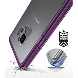Чохол Ringke Fusion для Samsung Galaxy S9 Orchid Purple, фото 2