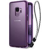 Чохол Ringke Fusion для Samsung Galaxy S9 Orchid Purple, фото 3