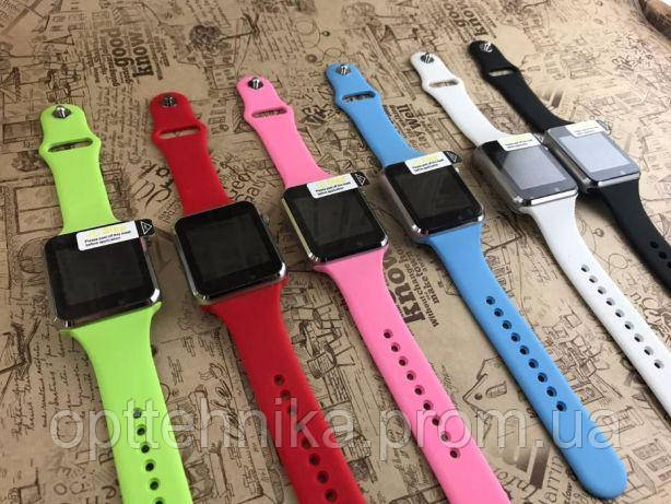 Смарт-часы UWatch SmartWatch A1 Телефон Опт от 2шт Салатовый