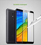 Smart чехол книжка с окошком для Xiaomi Redmi 5 Plus / Есть стекло защитное, фото 9
