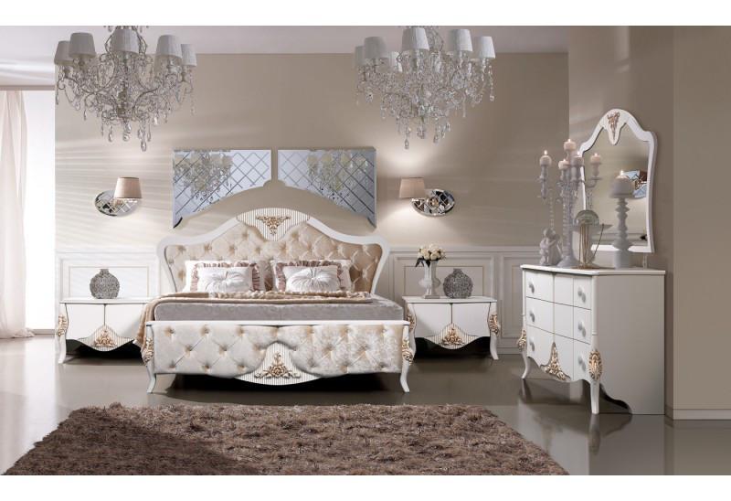 Спальня Стелла СлонимМебель белая