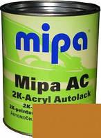 Автокраска акриловая 208 Охра золотистая MIPA 2K  1л. без отвердителя