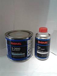 Грунт акриловый Ranal S-2000HS 5+1 серый 0,4л+0,08л. отвердитель