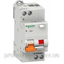 Дифференциальный автомат Schneider Electric АД63 2P 16A З 30mA 11473