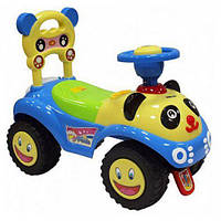 -Babymix 7601 (blue)  Машинка-каталка (Alexis)