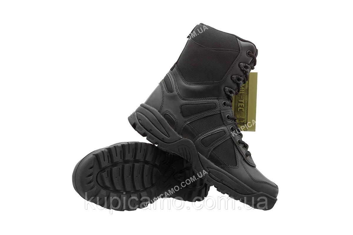 """Берцы треккинговые демисезонные """"Mil-tec"""" black Combat Boots """"Generation II"""" Германия"""
