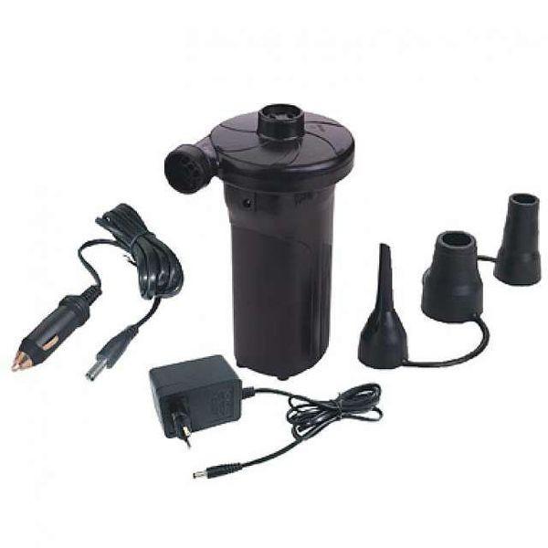 Мощный электрический насос HT-677 (220 вольт + 12 вольт + Аккумулятор)