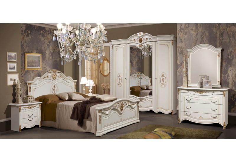 Спальня Джаконда 2Д1 СлонимМебель белая