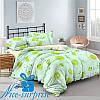 Двуспальный постельный комплект из сатина МОХИТО (180*220)