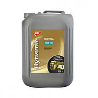 Синтетическое моторное масло MOL Dynamic Mistral 10W-40 - 10л.