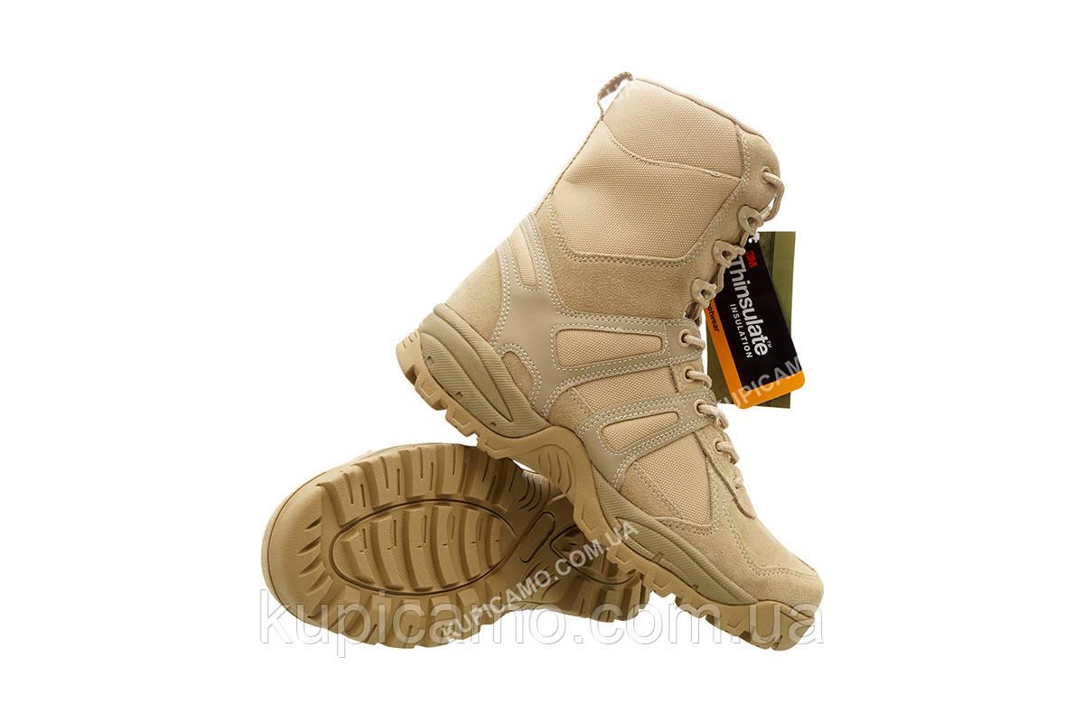 """Берцы треккинговые демисезонные """"Mil-tec"""" Combat Boots """"Generation II"""" khaki Германия"""