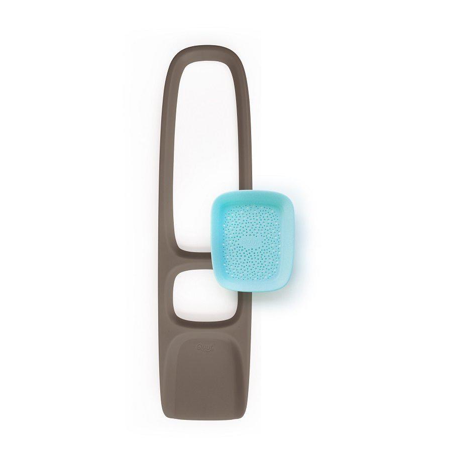 Quut - Лопата для песка Scoppi с ситом, серо-голубая