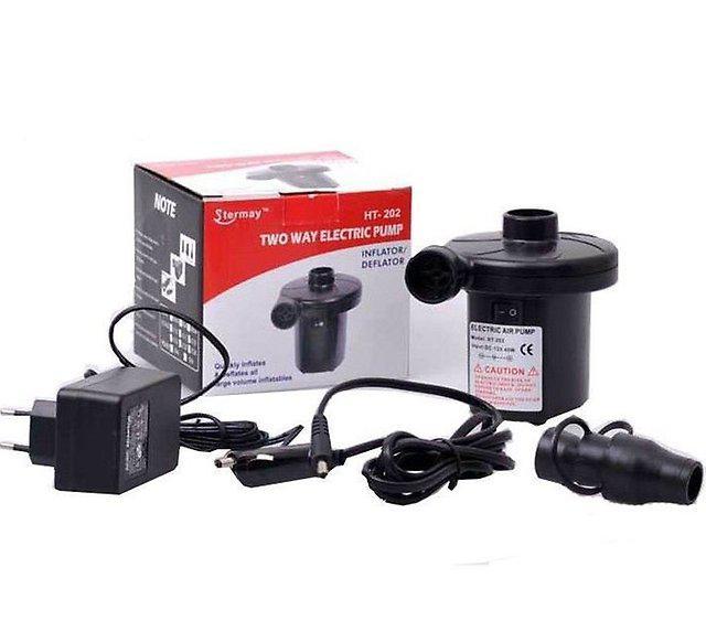 Мощный электрический насос HT-202 (220 вольт + 12 вольт)