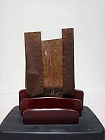Бумажный пакет с окном, жироустойчивый, 210х120х50 100шт