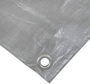 Тент тарпауліновий з люверсами 5х8 щільність 110 г/кв. м | Тент терпаулиновый