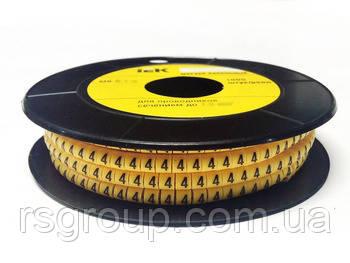 Маркер кабельный EC-1