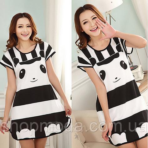 Домашнее платье с принтом ANNA  (40 размер,  размер S ), фото 2
