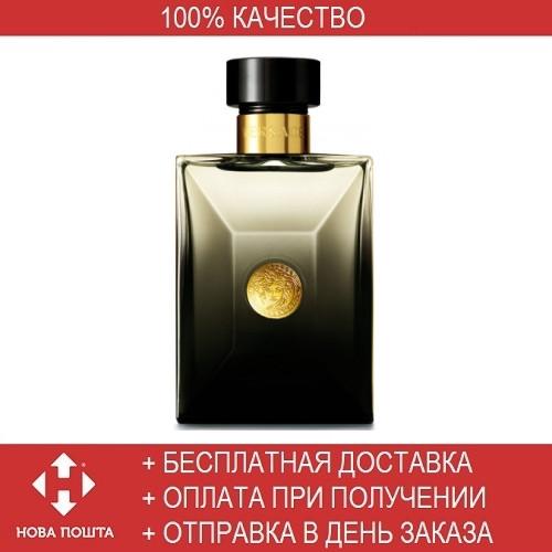 Versace Pour Homme Oud Noir EDP 100ml TESTER (парфюмированная вода Версаче  Пур Хом Уд Нуар f40cdb2882e8f