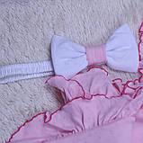 """Летний конверт-плед """"Нежность"""", розовый, фото 2"""