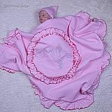 """Летний конверт-плед """"Нежность"""", розовый, фото 4"""