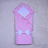 """Летний конверт-плед """"Нежность"""", розовый, фото 5"""