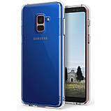 Чехол Ringke Fusion для Samsung Galaxy A8 Plus 2018 Clear, фото 10