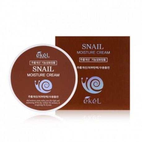 Крем для лица с муцином улитки Ekel Snail Moisture Cream, 100ml