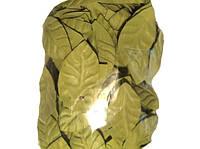 Оливковые листья листочки из латекса (фоамирана) 2 см 10 шт/уп