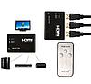 HDMI свитч 3 порта с ПДУ сплиттер
