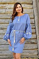 Современное платье-вышиванка d2a75f5c01645