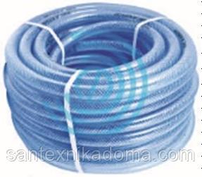 Посилений поливальний шланг високого тиску 8 Bar робочий тиск Експорт 1/2 50м блакитний
