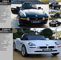 Детский электромобиль BMW Z 8, пульт, свет, звук, електромобиль