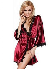 Атласный халат Exclusive Домашняя одежда, фото 2