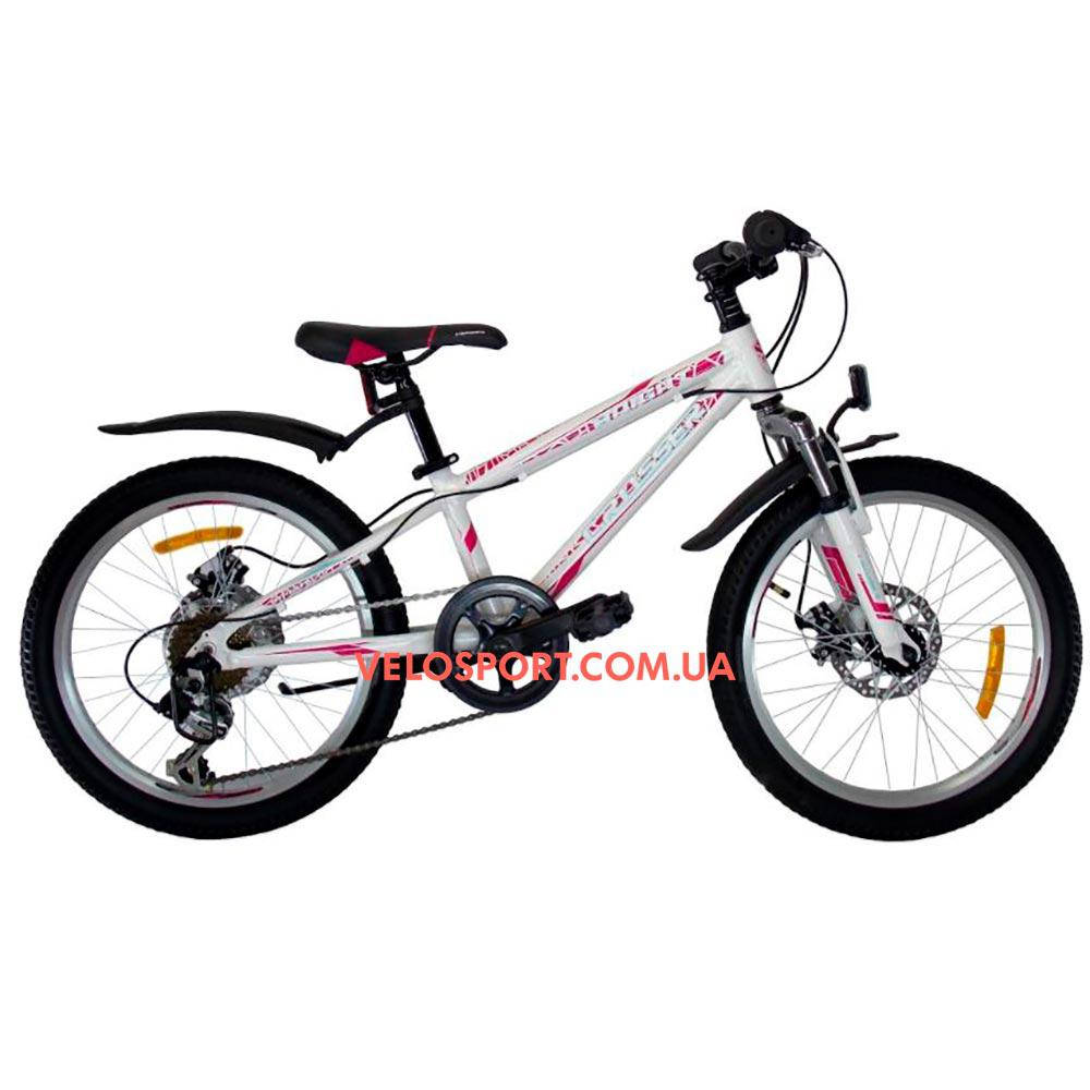 Детский велосипед Crosser Bright 20 дюймов белый
